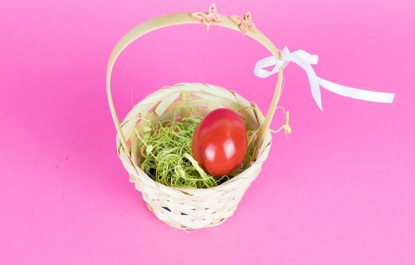 Picture background, basket, egg