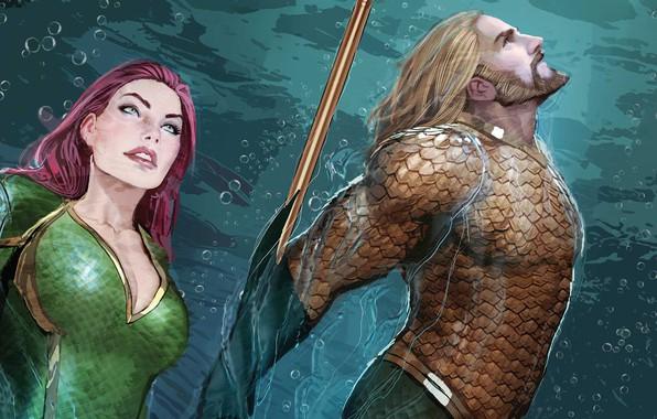 Picture Water, Figure, Hair, Heroes, Costume, Comic, Beard, Heroes, Superheroes, Red, Water, Blonde, DC Comics, Redhead, …