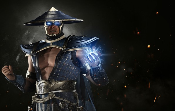 Picture game, lightning, hero, Raiden, DC Comics, god, uniform, spark, super hero, thunder god, Injustice 2, …