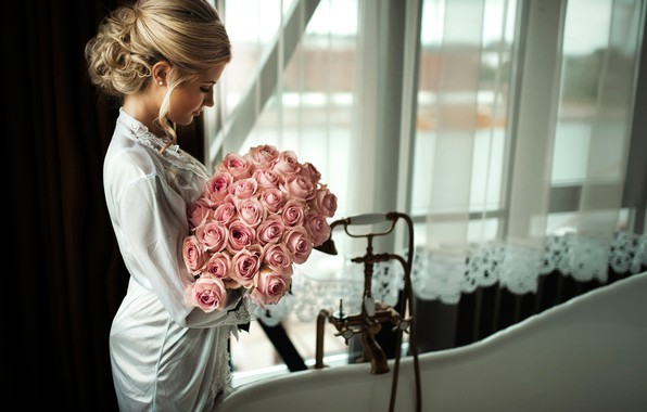 Picture bouquet, the bride, Riga, Latvia, Wedding morning, ⭐⭐⭐⭐⭐⭐Janis Balcuns ⭐⭐⭐⭐⭐⭐