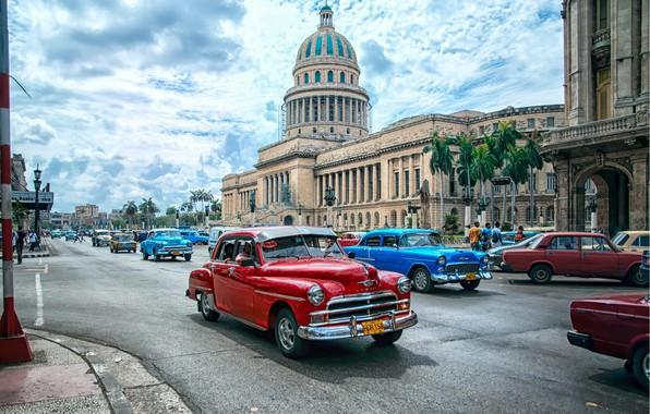 Picture Auto, The city, Cuba, Cuba, Havana