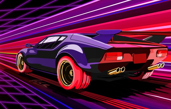 Picture Auto, Figure, Neon, Machine, Speed, Electronic, Synthpop, Darkwave, Synth, Retrowave, Synth-pop, Sinti, Synthwave, Synth pop