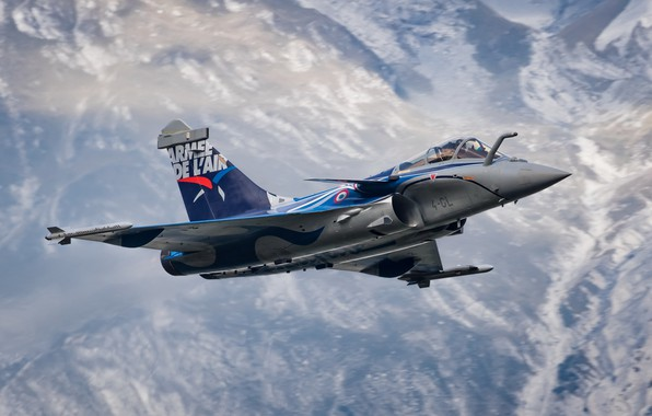 Picture Dassault Rafale, French Air Force, C 4-GL Alps