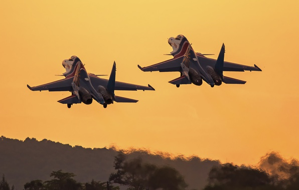 Picture the rise, Sukhoi, Flanker, Su-30SM