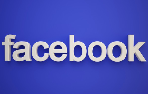 Picture text, letters, the volume, facebook, social network