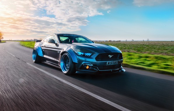 Picture Mustang, Ford, GTR, speedhunters, Liberty Walk
