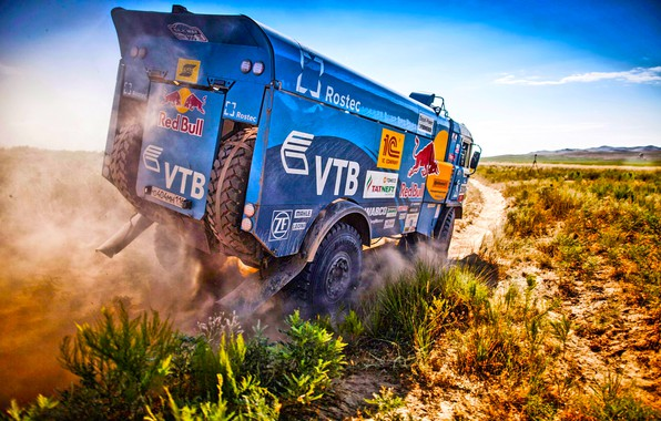 Picture The sky, Sand, Nature, Grass, Dust, Sport, Speed, Stones, Truck, Race, Master, Dirt, Hills, Squirt, …