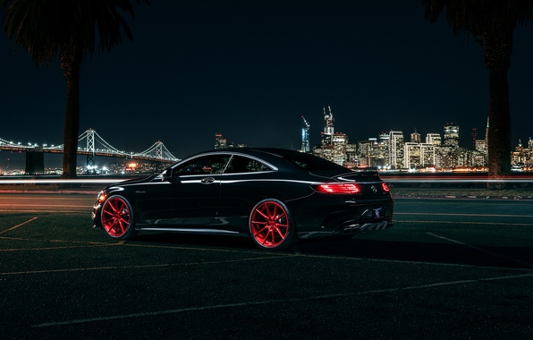 Photo wallpaper S63, Wheels, Rear, Garde, AMG, Before, Coupe, Mercedes-Benz