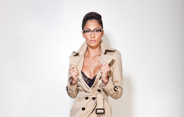 Photo wallpaper glasses, singer, Nicole Scherzinger, celebrity