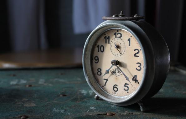 Picture arrows, watch, alarm clock