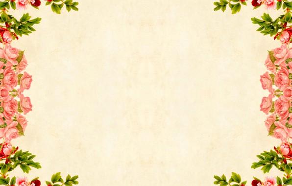 Picture flowers, design, paper, background, collage, bouquet, watercolor, beautiful, grunge, nostalgia, retro style, illustration, village, decorative, …