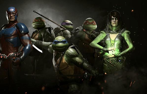 Picture game, TMNT, hero, Atom, DC Comics, uniform, super hero, Enchantress, Injustice 2