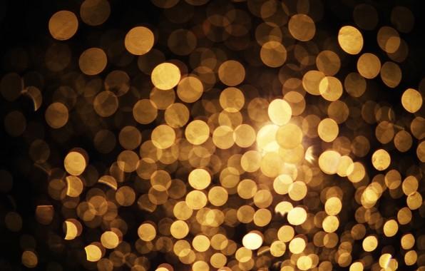Picture light, lights, lights, background, golden, gold, background, bokeh, bokeh
