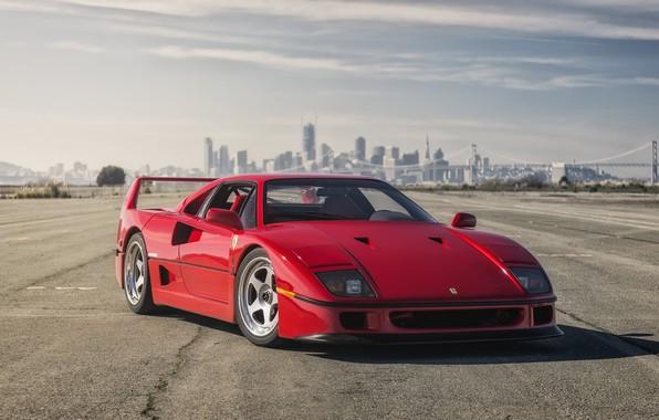 Picture Ferrari, Red, F40