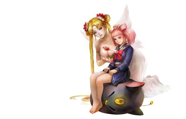 Picture anime, art, rod, Sailor Moon, 세일러 문 [Beautiful Girl Soldier Sailormoon- 美少女戰士セ-ラ, Kim Eul bong