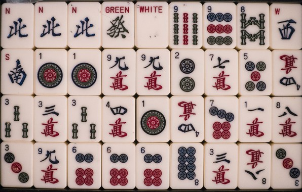 Picture the game, texture, Mahjong