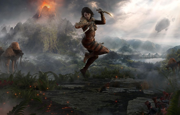 Photo Wallpaper Morrowind The Elder Scrolls Online Morog Tong