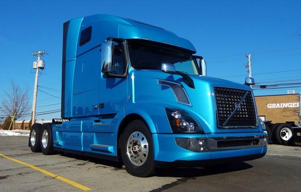 Picture Volvo, Blue, 780, VNL