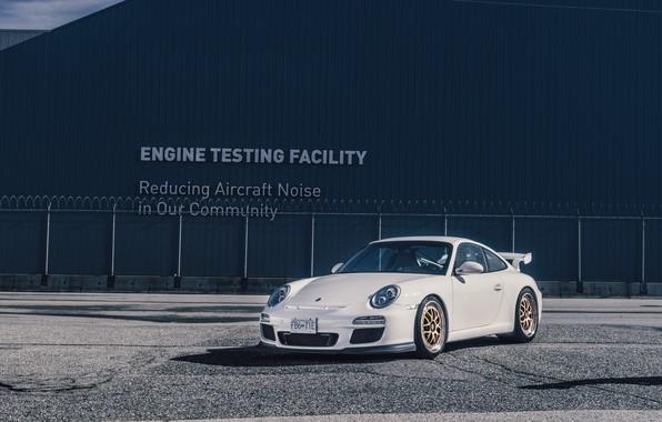 Picture Porsche, white, GT3