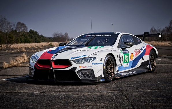 Picture racing car, 2018, Motorsport, GTE, BMW M8
