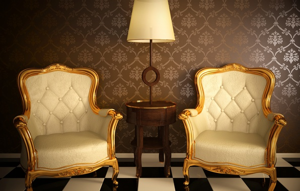 Picture leather, Leather, armchairs