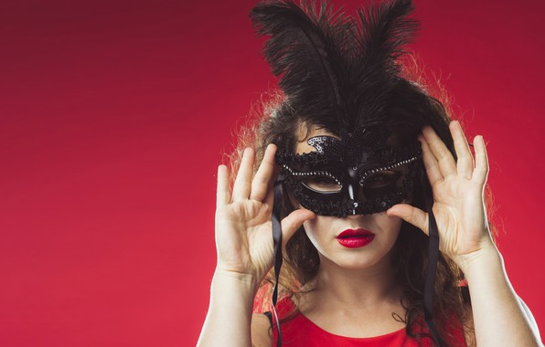 Picture Girl, Mask, Makeup, Carnival