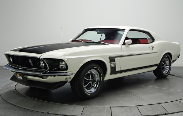 Picture 1969, Boss 302, Ford Mustang, muscle classic
