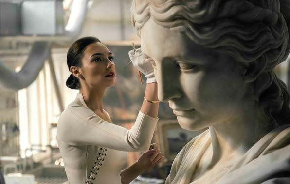 Picture statue, gal gadot, wonder woman, justice league, justice League, diana prince, wonder woman, Gal gadot, …