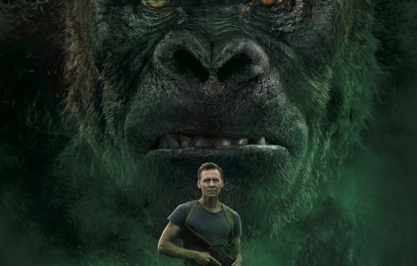 Wallpaper The Film, Movie, Kong: Skull Island, King Kong