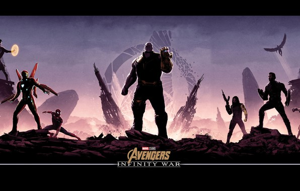 Picture fiction, poster, characters, comic, MARVEL, Thanos, Thanos, Avengers: Infinity War, The Avengers: infinity War