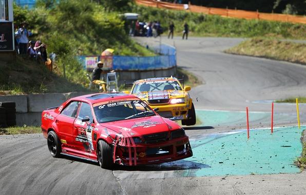 Picture drift, toyota, Toyota, chaser, Kaiser