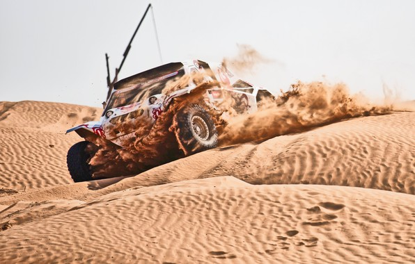 Photo wallpaper Sand, Auto, Sport, Speed, Race, Rally, Rally, Dune, Buggy, Buggy, Silk road, Silk Way