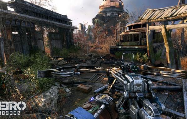Picture game, weapon, survivor, arrow, Metro Exodus