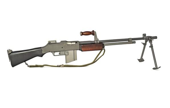 Picture automatic rifle, BAR, machine gun