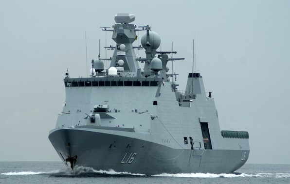 Picture frigate, Denmark, type absalon