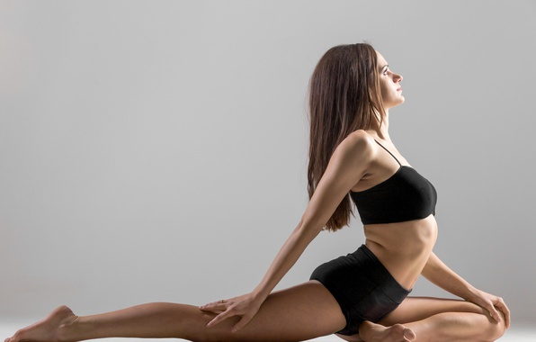 Picture Woman, pose, fitness, yoga, elongation