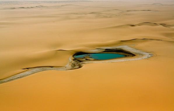 Picture water, desert, Africa, oasis, Sugar, Air, Niger