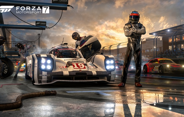 Picture Microsoft, Car, Game, Forza Motorsport 7