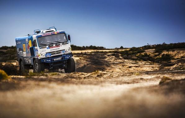 Photo wallpaper Truck, Race, Master, Beauty, Russia, Kamaz, Rally, Rally, KAMAZ, The roads, Master, Silk road, Silk ...