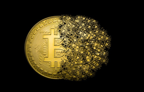Picture logo, coins, GOLD, bitcoins