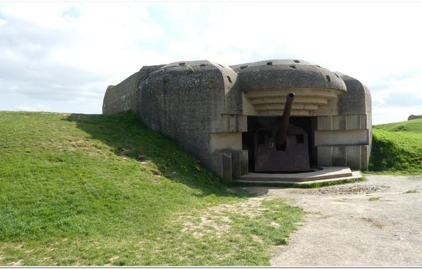 Picture gun, normandy, ww2, artillery