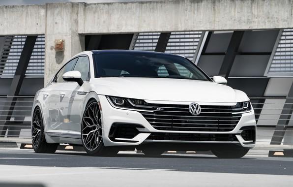Picture Volkswagen, White, Vossen, VAG, Arteon, R-line
