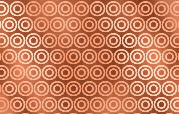 Picture Pattern, Circles, Background, Texture, Gold
