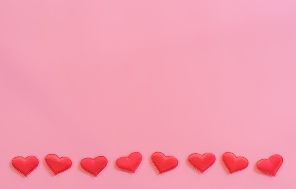Picture Minimalism, Hearts, Background