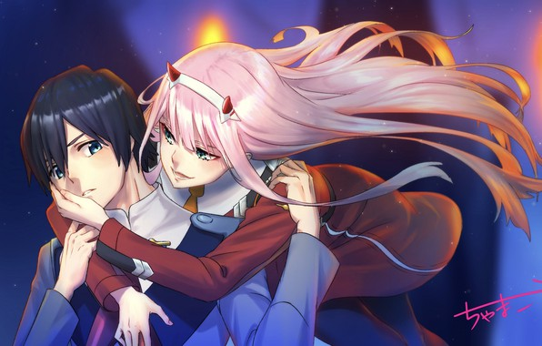 Wallpaper Girl, Anime, Guy, Darling In The Frankxx, Cute