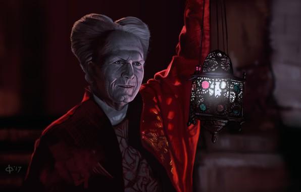 Picture lantern, vampire, Dracula