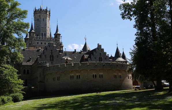 Picture Nature, Germany, Marienburg Castle, Pattensen