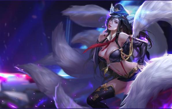 Picture the game, fantasy, art, League of Legends, illustrator, work, Ari, li miao, Magic Paradise a …