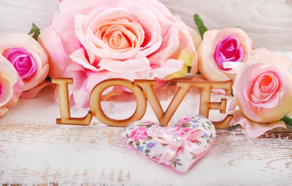 Wallpaper roses hearts love heart pink flowers romantic photo wallpaper roses hearts love heart pink flowers romantic mightylinksfo