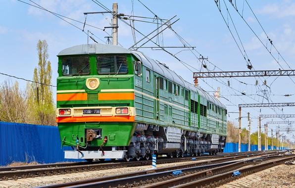 Picture Locomotive, Locomotive, Railroad